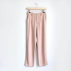 NWT Sans Souci high waist button fly pant - Small